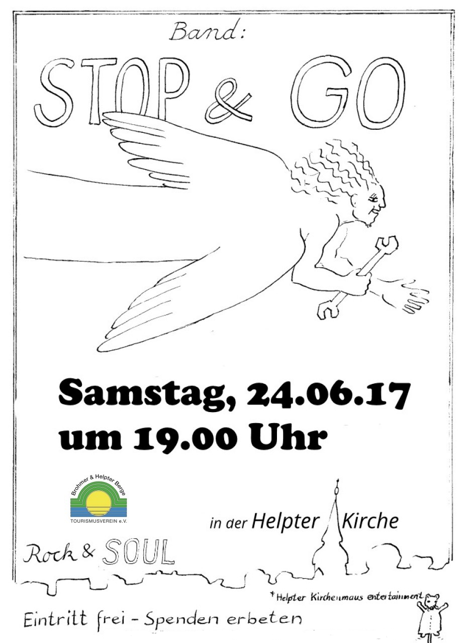 """Heart and Soul"" und die Band ""Stop and go"""